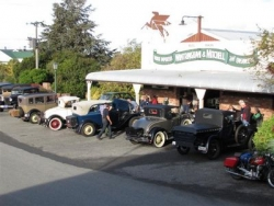 Model A Fords at the Blenheim Vintage Car Clubrooms at Brayshaw Park..JPG